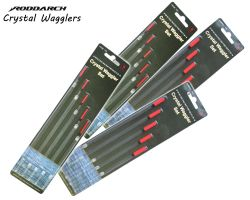 RODDDARCH® Waggler Float Set. Wide Tip or Insert Tip