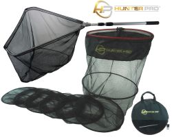 3m Keep Net With Stick Bag Bank Stick Large Specimen Landing Net Set. Hunter Pro Fishing Net Set