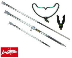 Dinsmores Bank Sticks & Grandeslam Rod Rests Set Overview
