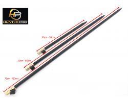Hunter Pro Adjustable Bank Stick Set. 3 Bank Sticks 30-50cm, 50-80cm, 75-120cm