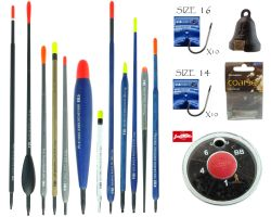 12 Float Coarse Fishing Tackle Set - Complete