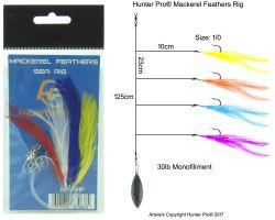 Mackerel Feathers - Pre Tied Rig