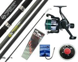 Hunter Pro 10FT Carbon-X Float / Match Rod, Reel, Tackle