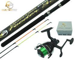 Hunter Pro® 11ft Composite Feeder Rod & HP50R Reel Overview 1