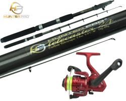 Carbon Concept Telescopic Rod and SY200 Reel Overview 1