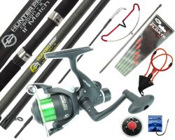 11' Complete Fishing Kit Including Hunter Pro Rod & Reel
