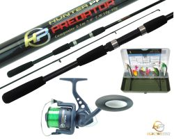 2.1m Predator rod, HP60S Reel, Pike Tackle