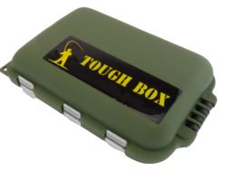 Green Small Clamshell Tackle Box Front