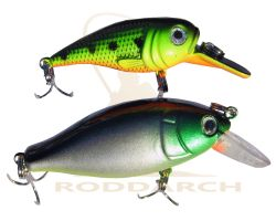 Roddarch Twin Pack Fishing Rattler Plug Set