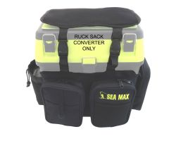 SEA MAX Boat Fishing Rucksack Backpack Converter Front