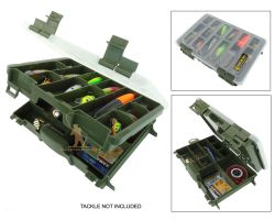 Roddarch Twin Tray Tackle Box Overview
