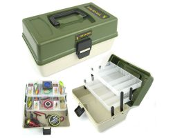 Roddarch 2 Tray Fishing Angling Tough Tackle Box
