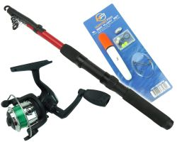 Junior Fishing Set with Rod Reel & Sea Float Set