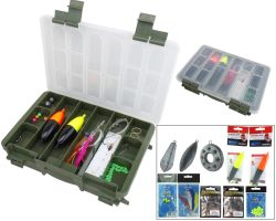 Complete Sea Fishing Tackle Set and Roddarch Tackle Box