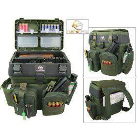 Shooting Range Gun Box and Rucksack Overview