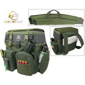 Shooting Range Gun Box and Rucksack Soft Gun Case Overview