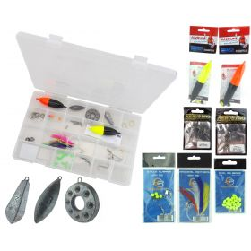 Complete Sea Fishing Tackle Set & Roddarch Clear Tackle Box