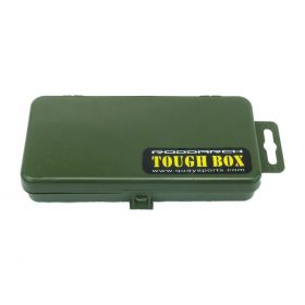 Roddarch Small 5 Section Tackle Box - Dark Green Angling on Top