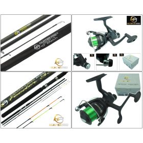 Match & Feeder Rod & Reel Set