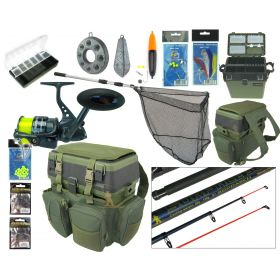 RODDARCH Complete Sea Fishing Kit with Hunter Pro HP70S Reel Overview