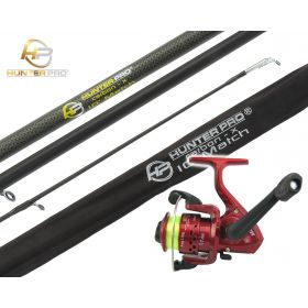Hunter Pro 10' Carbon-X Float Match Rod & Roddarch SY200 Reel