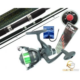 Hunter Pro 11ft Match Rod, HP40R Reel, Wagglers, Hooks & Shot