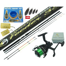 11ft Feeder Rod, Reel & Tackle Set Overview 1