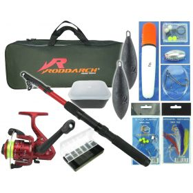 Junior Travel Sea Fishing Kit Set Overview 1