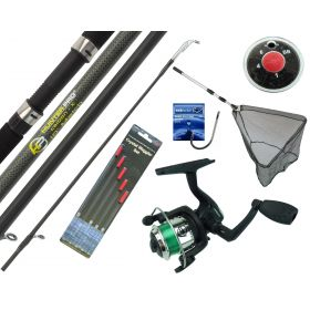 Starter Fishing Set with 10' Hunter Pro Rod & HP200XR Reel Overview
