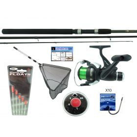 11' Float Match Rod, Net, Wagglers, Hooks & Shot
