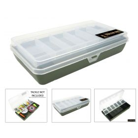 Roddarch Tough Box Cantilever Fishing Angling Tackle Box