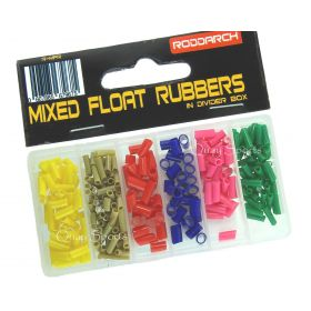 Fishing 1000 Assorted Pole / Float Fishing Rubbers