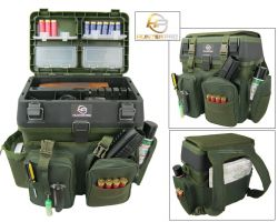 Shooting Range Gun Box and Rucksack Overview