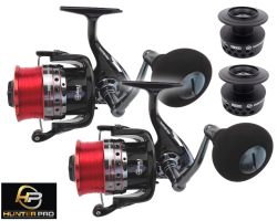 2 X Hunter Pro Vortech 8000 Sea Reel