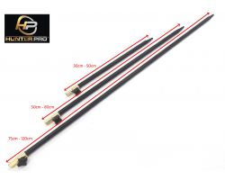 Hunter Pro Adjustable Bank Stick Set. 3 Bank Sticks 30-50cm, 50-80cm, 75-120cm