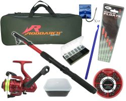Roddarch Junior Deluxe Fishing Kit Full Angling Tackle