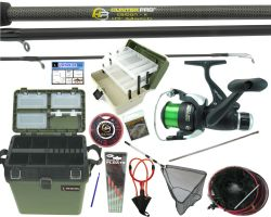 Complete Roddarch Fishing Kit with Carbon 10' Match Rod