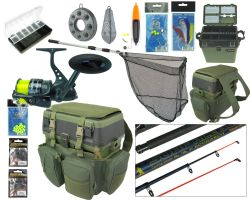RODDARCH® Complete Sea Fishing Kit with Hunter Pro® HP70S Reel Overview