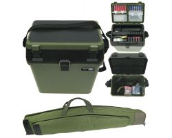 Shooting Range Gun Box and Soft Gun Case