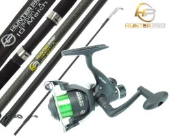 Hunter Pro 10FT Carbon-X Float Match Rod and Hunter Pro HP40R Reel