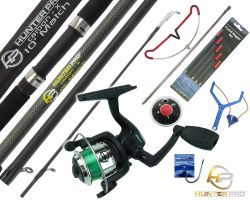 Starter Fishing Tackle Set with Hunter Pro® Rod, Reel & Tackle Set Overview
