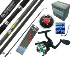 Starter Fishing Set With Hunter Pro®10Rod & HP200XR Reel Overview
