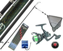 Hunter Pro 11ft Fishing Kit Including Net & Tackle