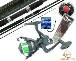 Hunter Pro 11ft Match Rod, HP40R Reel, Wagglers, Hooks & Shot