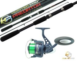 2.1m Predator Rod and HP60S Reel