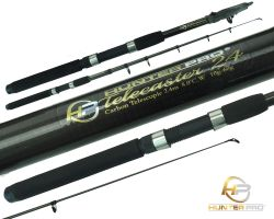 Hunter Pro® 8ft Carbon Fibre Telescopic Spinning Rod Overview 1