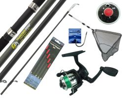 Starter Fishing Set with 10' Hunter Pro® Rod & HP200XR Reel Overview