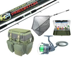 Complete Spinning Fishing Kit