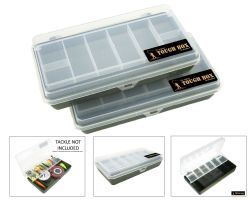 Roddarch Tough Box Cantilever Fishing Angling Tackle Boxes