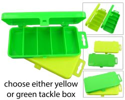 Roddarch High Visibility Fishing Tackle Boxes Angling Overview